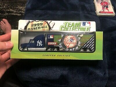 1999 New York Yankees Truck Trailer Metal Die cast Collectibles Scale 1:80