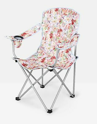 Joules Printed Picnic Chair ONE in WHITE FLORAL in One Size