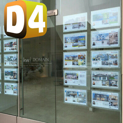 Estate Agent Window Wall Display, Double Side LED LCD Signage Display