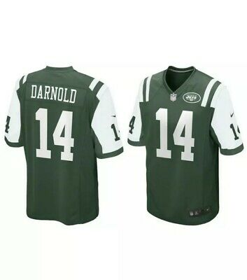 afcf8f59fb848 Nike Men s Size XL New York Jets Sam Darnold  14 Home Game Jersey 468963 377