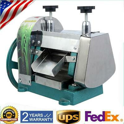 Sugarcane Juicer Sugar Cane Grind Press Machine Liguid Juice Squeezer Handwheel
