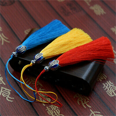 Assorted Silky Tassels Pendant Artificial Silk DIY Jewelry Sewing Decor Crafts