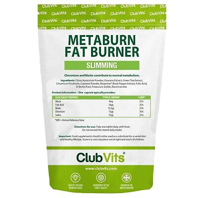 Metaburn | Weight Loss Fat Burner | Slimming | 90 Pack | ClubVits