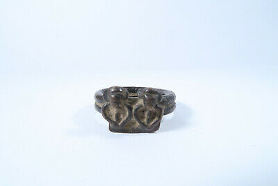 Alter Ring Senufo Buschgeister Tugubele AN66 Old Senoufo Ring Bague frozip