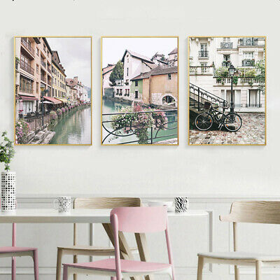 Scandinavian Wall Art Canvas Poster Nordic Scenery Print Home Decoration Picture