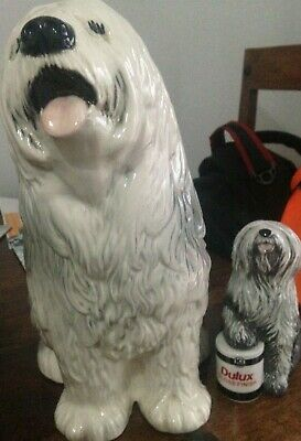 Sheepdog/ Dulux Ceramic dogs - 2 (one boxed special edition)
