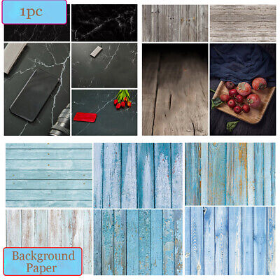 Photography Backdrop Paper Double-sided Wood Grain Background Photo Props