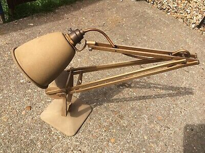 Vintage Lighting Hadrill & Horstman Anglepoise Lamp Super Rare %100 Original