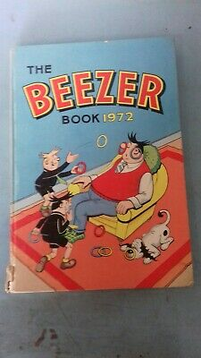 The Beezer Book Annual 1972 damaged spine