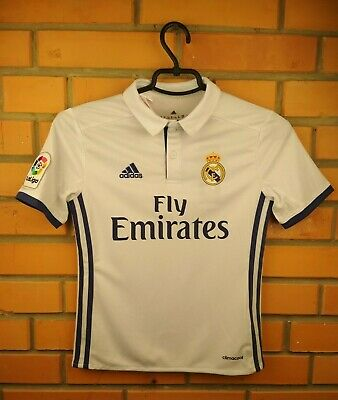 d3ac922af Real Madrid kids jersey 9-10 years 2016 2017 home shirt AI5189 soccer Adidas