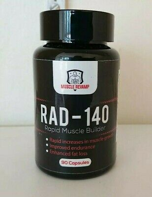RAD-140 (Testolone) - 10mg - 90 caps - Muscle Revamp - FAST UK DELIVERY FREE