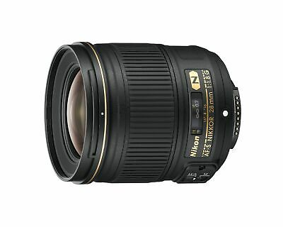 Nikon AF FX NIKKOR 28mm f1.8G Compact Wide-angle Prime Lens with Auto Focus for