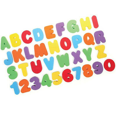 36x Baby Kids Toddler Infant Letters Numbers Floating Bath Tub  Funny Toy Hot
