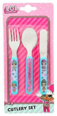 LOL Surprise! 3-Piece Cutlery Set   Knife, Fork and Spoon