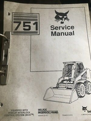 Bobcat 751 Skidsteer In-depth Workshop Service,repair Manual Book
