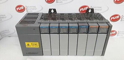 Allen Bradley SLC500 Power Supply Input/Output Modules, 7 Slot,1746-P2,1746-OW16