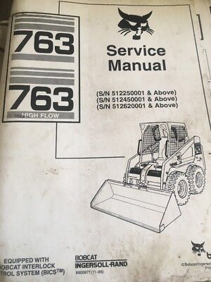 763,763 High Flow Skidsteer In-depth Workshop Service,repair Manual Book
