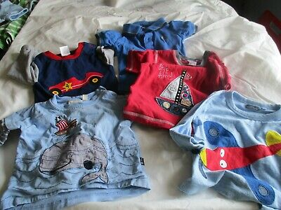5 x Baby boy clothes 6-9/12mths Next. JoJo Maman Bebe, Fred Perry, Blade & Rose
