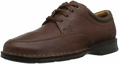 Clarks Mens Northam Pace Lace Up Dress Oxfords, Tobacco Leather, Size 13.0 uKNG
