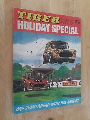 Tiger Comic 1974  Holiday Special - Mini Cover