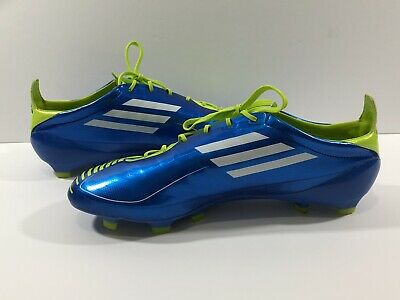 8d6355575 Adidas Adizero F50 Blue G40340 Rare Limited Edition Cleats Sz 11 (No  Insoles)