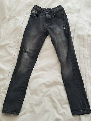 Next Skinny Faded Boys Jeans 11 Years Black