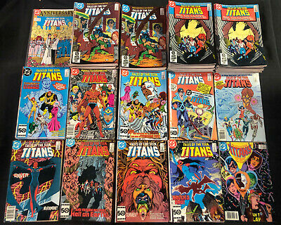 Dc Bronze/Modern Age Dealers Overstock 326Pc (Vf-Nm) New Teen Titans, Animal Man