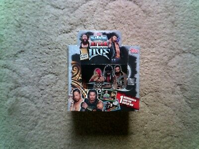 Topps Slam Attax Live Cards - Limited Edition  Champion & Rivals card