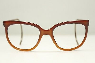 7f447a326ce2 VTG Bausch Lomb Ray Ban Cats Eye Sunglasses Eyeglasses FRAMES ONLY France  Brown