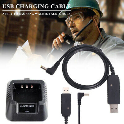 B948 Walkie Talkie Cord Charger Cable Portable 100CM 2.5mm Port Outdoor Battery