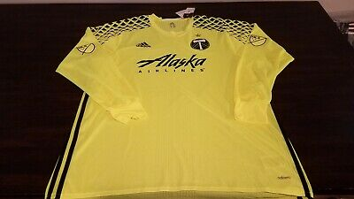 Portland Timbers non Army authentic Jersey adidas 2XL sz 12 champs 2015 star