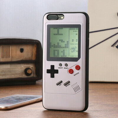 Classic Game Boy Phone Case Shockproof Cover for iPhone X XS XR MAX 6S 7 8 Plus