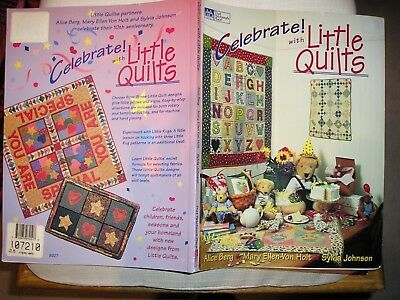 Celebrate!  with Little Quilts  That Patchwork Place 88 Seiten   Stoff nähen DIY