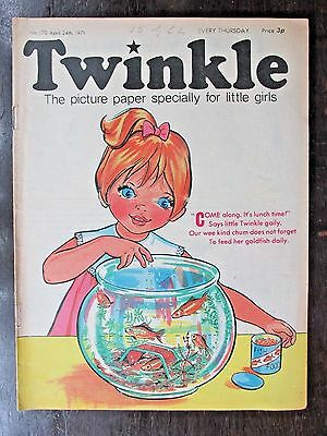TWINKLE COMIC.  NO.170  APRIL 24th .1971. DOROTHY AND THE WIZARD OF OZ.