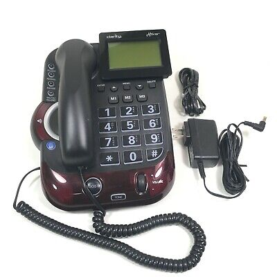 Clarity Alto Plus 54505 Severe Hearing Loss / Impairment Amplified CID Phone