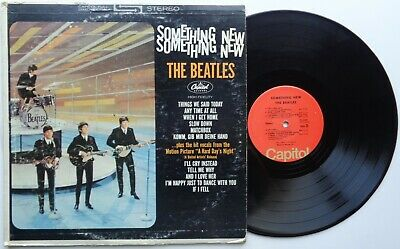 K44BeatlesSomething newST-2108US LP red capitol labels *SALE*