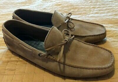 a36d435ac95 TOD S BROWN SUEDE  Gommino  Penny Loafers Size 8 Men US -  60.00 ...