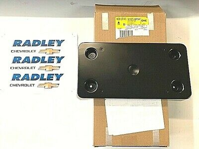 New OEM 2007-2014 Escalade License PLATE w//attach kit 15140153