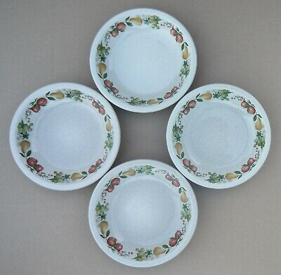 Wedgwood Quince Soup/Cereal/Dessert Bowl X 4 Diameter - 7 1/4 Inches