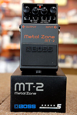 Boss MT2 Metal Zone Distortion Guitar Effect Pedal- NEW Free Shipping