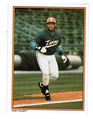 (25) Card Lot 1987 Kirby Puckett Minnesota Twins Topps Glossy Mail-In Card #57