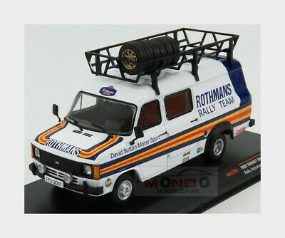 Ford Transit MKII Van Team Rothmans Rally Assistance 1979 IXO 1:43 RAC270X