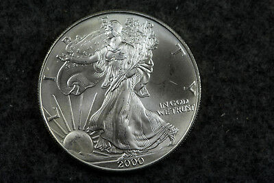 Estate  Find  2000  American Silver Eagle  #D6234