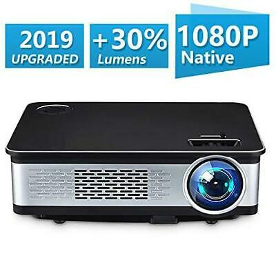 Home Theater Projector,HDEYE Native 1080p Full HD LED Video Projector - Up...