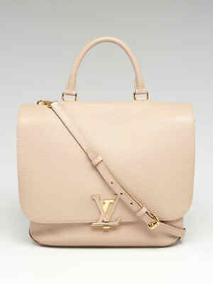d2a0e728e668 LOUIS VUITTON GALET Taurillon Leather Volta Bag -  2