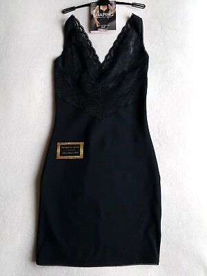 M&S Shaping / Smoothing Firm Control  ''Wear Your Own Bra'' Slip Size 12 Black
