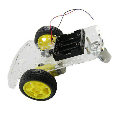 Acrylic 2WD Smart Robot Car Chassis Kit+Speed Encoder Motor For Arduino DIY