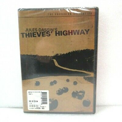 Thieves' Highway [DVD] Criterion Collection Jules Dassin Black & White SEALED