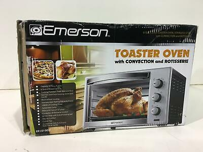 6 Slice Convection and Rotisserie Countertop Toaster Oven Ft 0.74 Cu