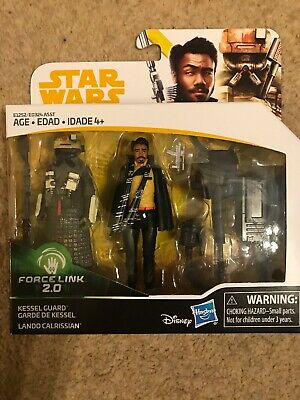 Kessel Guard & Lando Calrissian Solo Star Wars figures Force Link 2.0 - New
